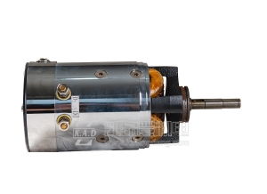 江苏1.5KW卧式直流串励电机